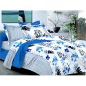 Sig. Shiraz Flower Printed Fancy Bed Sheet