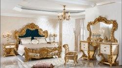 Aarsun Teak Wood Wooden Designer Bedroom Set, For Home, Size: Cal King