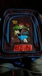 Printed Nylon Ben10 School Bag