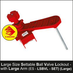 Large Settable Ball Valve Lockout