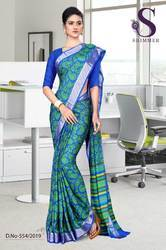 Teacher Uniform Saree