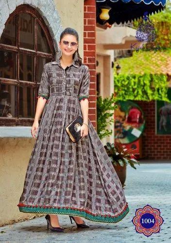 d023af3575 Kajal Fashion Loreal Vol 1 Long Designer Ethnic Wear Kurtis Online Shopping