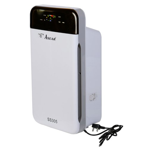 Asear White Room Air Purifier, Automation Grade: Automatic, Room Size: 361 Sq Ft