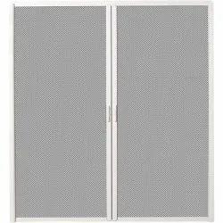 White (Frame) Aluminium Mosquito Net Door, Shape: Rectangular, Size/Dimension: 6x4 Feet