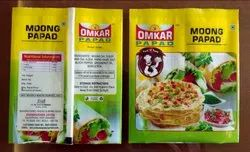 Laminated Papad Packaging Pouch