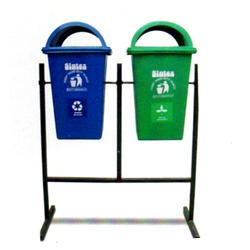 Dust Bins with Mild Steel Poles