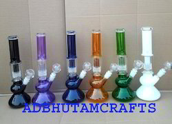12 Mix Color Fancy Glass Bongs