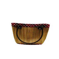 Bamboo Straw Ladies Bag