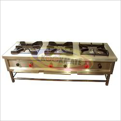 MS Three Burner Gas Range