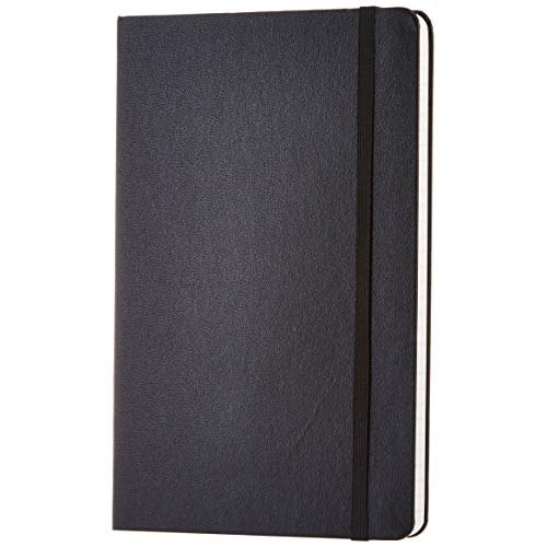 A5 Black Notebook Diary, Yearly