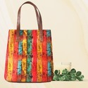 Multicolor  College Tote Bags