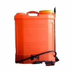 Oranqge Sanitizer Spray Machine