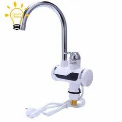 Stainless Steel Round Electric Heating Tap, For Kitchen