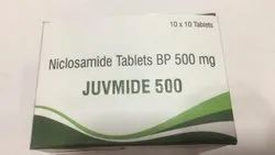 JUVMIDE NICLOSAMIDE TABLETS, Non prescription, Treatment: Worm Infections