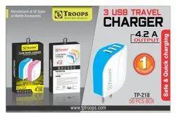 4.2 AMP 3 USB Adapter S Type