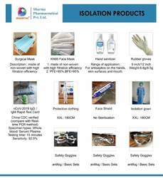 DKSORTHO Natural Rubber Isolation Products/Quarantine Product