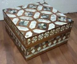 Bonny Mother of Pearl and Wooden Box