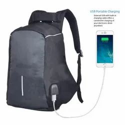 AdventIQ Anti Theft College Laptop Backpack/ USB Port for Charging / 22 Liter