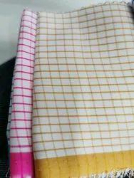 Mens Cotton Check Shirting Fabric