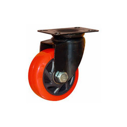 SS 304 Fix Type PU Caster Wheel