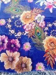 Floral Silk Modal Shawls