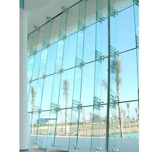 Spider Glass Wall : Curtain wall spider gopelling