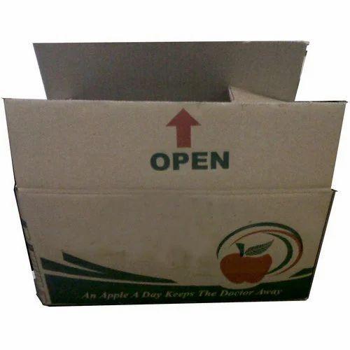 Corrugated Apple Box