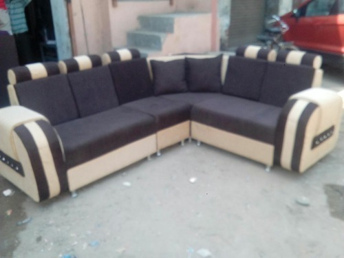 Black Corner Sofa Set Rs 15500 Piece Gujarat Furniture Id