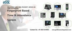 Access Card For Essl Biomax Fingerprint Attendance And Door Access Control Security Lock System