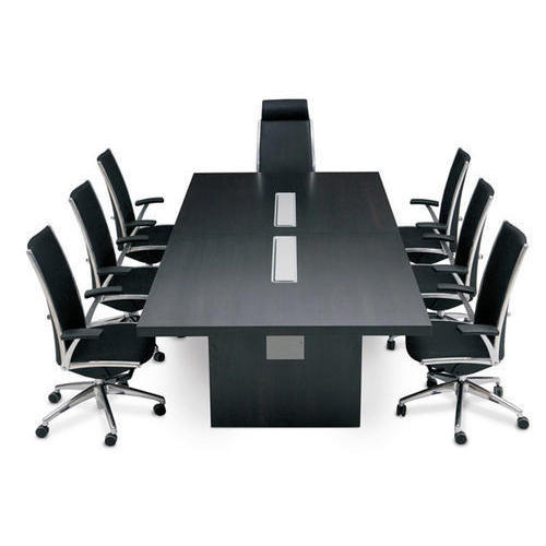 Wooden Rectangular Conference Room Office Table Rs Unit ID - Rectangular conference room table