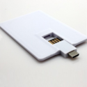 Wayona White Card Shape Otg Pendrive
