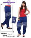 Royal Blue Salwar Pant