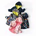 Kids Full Sleeves Printed Winter Hoodies, Size: M