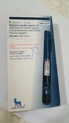 Novomix Insulin Pen, 5x3ml Cardtridges, Packaging Size: 5x3ml Cartridges