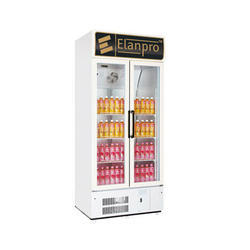 625 Ltr Elanpro Double Door Visi Cooler