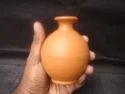 Elegant Clay Round Flower Vase