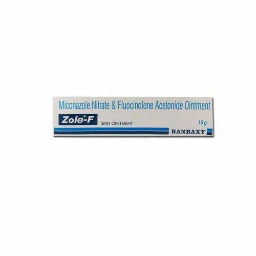 Zole-F Ointment Fluocinenolone Acetonide 0.01%w/w & Miconazole 2% w/w