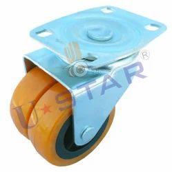 Double Wheel Castor