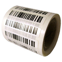 Paper & Polyester Barcode Tag Sticker, For Direct Thermal And Thermal Transfer Printer, Packaging Type: Roll