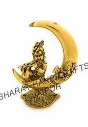 Gold Plated chand krishna