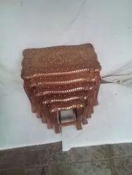 Brass Inlay Sheesam Wood Furniture