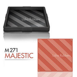 M271 Majestic Floor Tile Rubber Mould