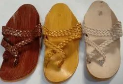 Men Ethnic Traditional Kolhapuri Chappal