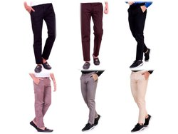 Solid Color Men''s Trouser