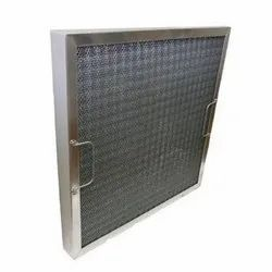 Wiremesh Filters United Make Metallic Air Filter, Model: UFVISCOUS, Filtration Grade: EU3