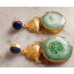 Druzy Gemstone Earrings