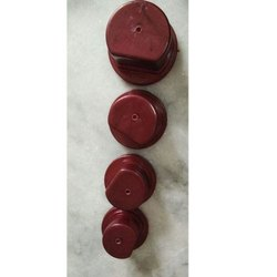 Red Plastic Round Base