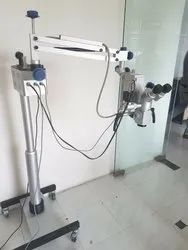 5 Step Dental Microscope with Inclinable Binoculars & LED Illumination