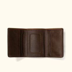 custom brand Custom Material Trifold Wallet