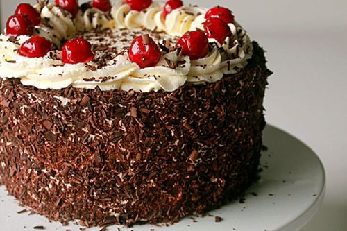Black Forest Cake Choco Chocolate